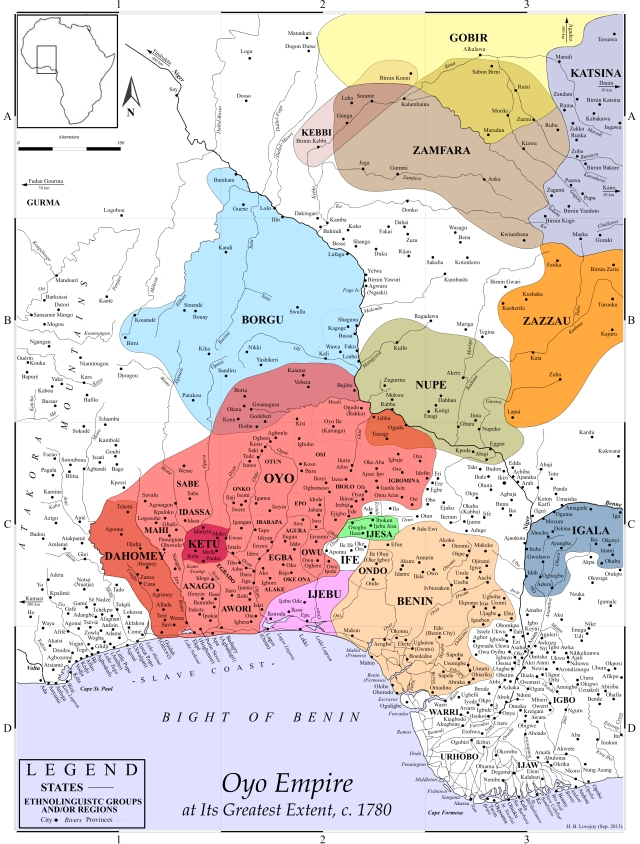 3 Oyo Empire at Its Greatest Extent, c. 1780