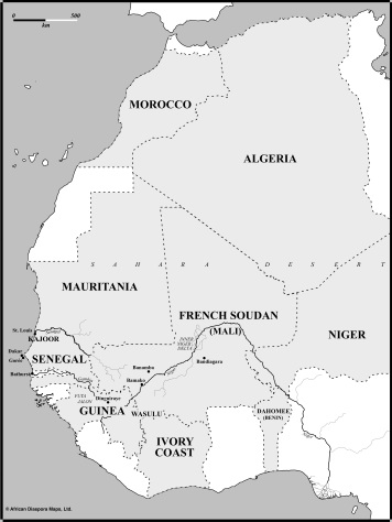 A: French West Africa during the Partition