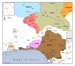 States of the Bight of Benin Interior, c. 1580